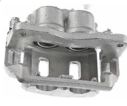 Brake calipers always house at least two cylinders into which the brake pistons are moved to pressure the brake pads against the rotor.